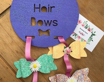 Personalised Hair Bow Holder