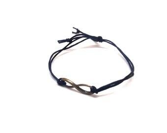 Infinity men bracelet