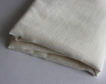 Cream open weave