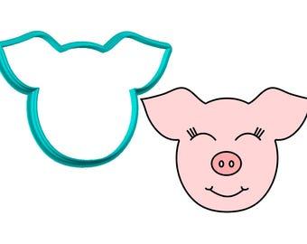 Pig Face Cookie Cutter