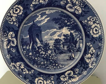 Wedgwood Queens Ware collectors plate 'The Water Tower'