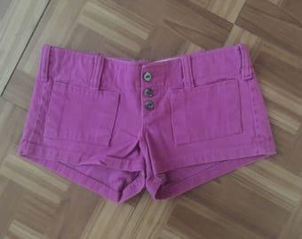 1970's Frederick's of Hollywood  Hip Hugger Shorts (Size 5/6) • Vintage Shorts