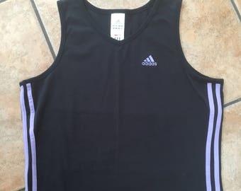 Adidas Sleeveless Top (M) • Vintage Adidas Tank Top