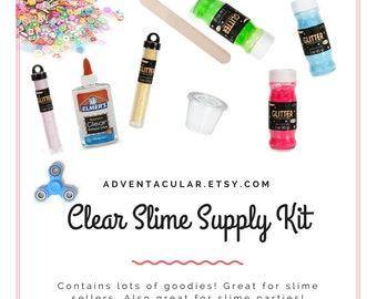 Clear Slime Kit Value Bundle for slime sellers