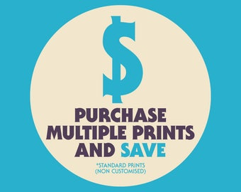 Purchase multiple prints and save