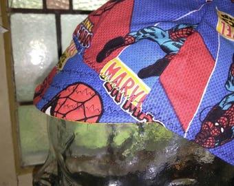 Welding Cap Spider Man Marvel hard hat cap, helmet cap,skull cap Do-rag