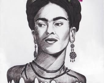 Mi Cariño Frida Print