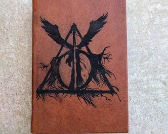 Leather Bound and Lasered Harry Potter and the Deathly Hallows