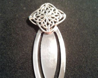 Sterling silver Celtic knot work Bookmark