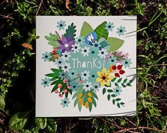 Thanks!- Square Card
