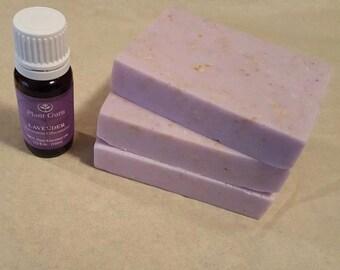 Oatmeal Lavender Natural Soap