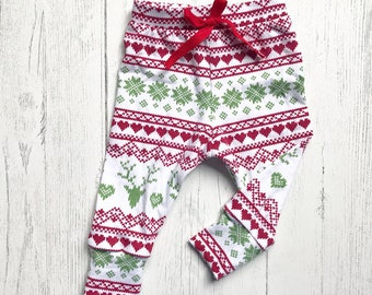 Christmas leggings | Etsy