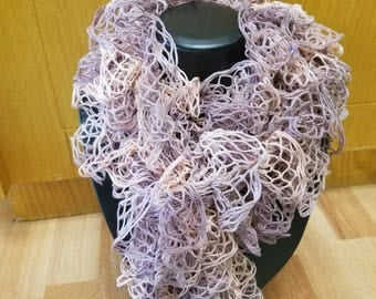 PInk and Pastel Scarf