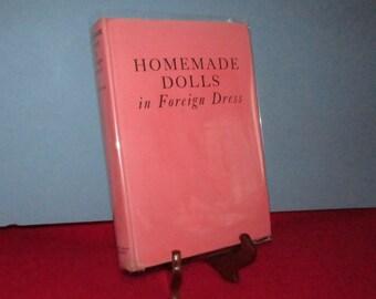 Homemade Dolls in Foreign Dress by Nina Jordan
