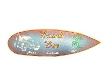 Beach Bar - Decorative surfboard