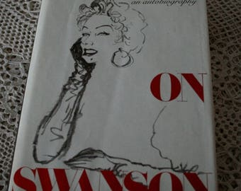 1980 Swanson on Swanson signed by Gloria Swanson Autobiography 1st edition book Hardcover