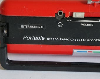 Panasonic  international vintage retro portable radio