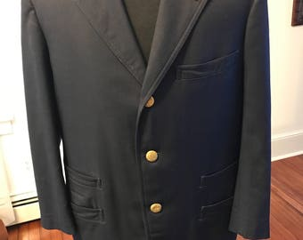 Vintage 1970's New York Train Conductor Uniform Jacket