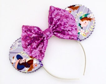 The Darlings - Handmade Mouse Ears Headband