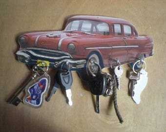 PONTIAC CHIEFTAIN wall key holder / key hook