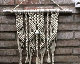 Boho style wall hanger in own design
