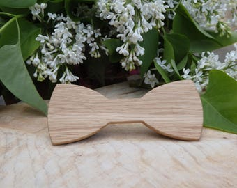 Bow tie wooden - handcrafted - model TRIESTE