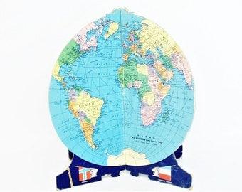 Vintage Plano-Sphere, World Globe c 1944 WWII