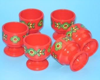 Vintage 70s egg cups from EMSA