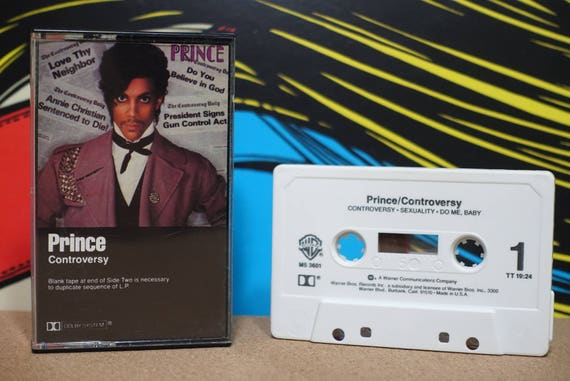 Controversy by Prince Vintage Cassette Tape