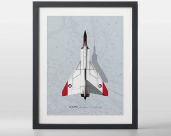 Avro CF-105 Arrow Art Print