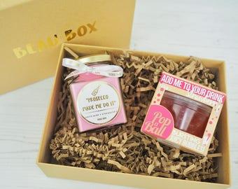 Prosecco Made Me Do It - Mini Candle Gift Box - Prosecco Lover.