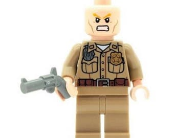 Breaking Bad Minifigure  Hank Schrader made from LEGO Parts Custom