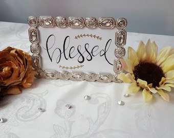 Blessed Jeweled Frame