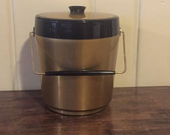 Mid-Century Vintage Thermo Serv Ice Bucket