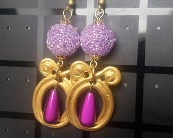 These earrings the jakarta seed beads