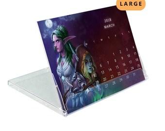 2018 Desktop Fantasy Calendar