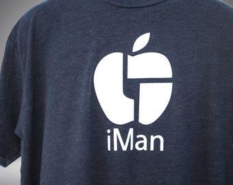 iMan t-shirt - Dark Grey