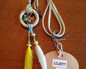 Dreamcatcher necklace, One of a kind