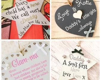 Personalised Wooden Plaque, Christmas Plaque, Elf Surveillance, Christmas Decor