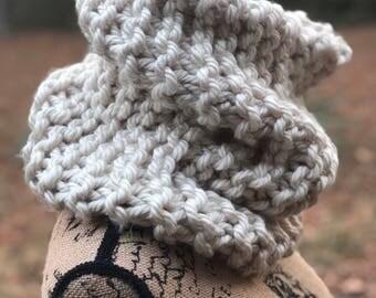 Bulky Knit Mega Cowl