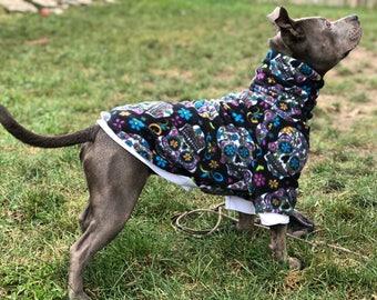 Dog Sweater, Dog Sweatshirt, Dog Hoodie, Dog Shirt, Dog Clothes, Dog Clothing, Fun Dog Sweater, Cute Dog Clothes, Fleece Dog Sweatshirt