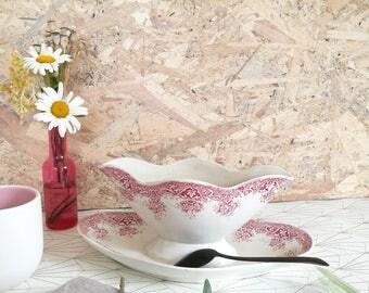 Vintage porcelain saucer