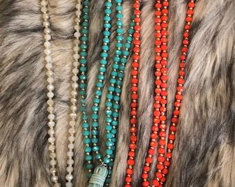 Fringe tassel Necklace