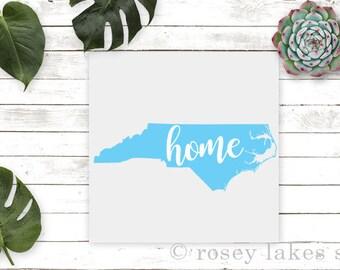 North Carolina, State Decal, North Carolina Decal, Car Decal, Vinyl Decal, NC Decal, Window Decal, Tumbler Decal, Yeti Decal, Home Decal