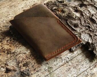 Card holder mens gift business card holder leather card holder personalized gift Personalized FREE groomsmen gift