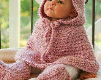 Color selection Sweet Baby Poncho