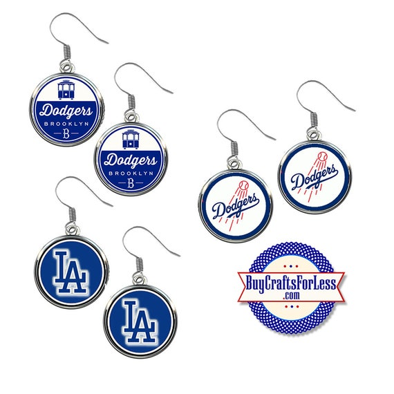 LOS ANGELES Baseball EARRiNGS, CHooSE Design - Super CUTE!  +FReE SHiPPiNG & Discounts*