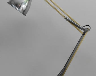 Anglepoise Trolley Floor Lamp Manufactured By Herbert Terry & Sons Circa 1950