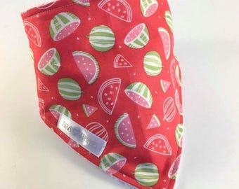 Bandana bib - melon