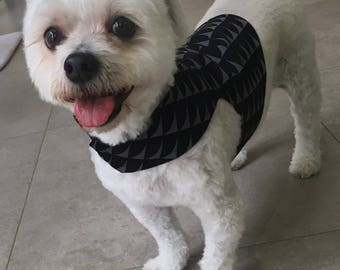 Black and grey Dog Jacket